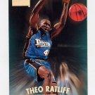 1997-98 Skybox Premium Basketball #110 Theo Ratliff - Detroit Pistons