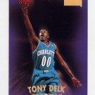 1997-98 Skybox Premium Basketball #068 Tony Delk - Charlotte Hornets