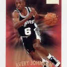 1997-98 Skybox Premium Basketball #038 Avery Johnson - San Antonio Spurs