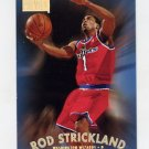 1997-98 Skybox Premium Basketball #009 Rod Strickland - Washington Wizards