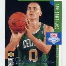 1994-95 Collector's Choice Basketball Silver Signature #414 Eric Montross DC - Boston Celtics