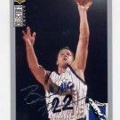 1994-95 Collector's Choice Basketball Silver Signature #299 Brooks Thompson - Orlando Magic