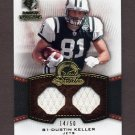 2008 SP Rookie Threads Stitch In Time #ST-DK Dustin Keller Dual Game-Used Jerseys /50