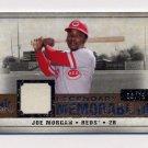 2008 SP Legendary Cuts Legendary Memorabilia #LM-JM Joe Morgan - Reds Game-Used Jersey /75