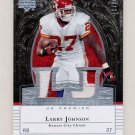 2007 Upper Deck Premier Patches Dual #PP2-LJ Larry Johnson Dual Game-Used Jersey Patch /99