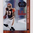 2008 Absolute Memorabilia RPM AFC/NFC #272 Andre Caldwell RC - Game-Used Dual JSY and Football /199