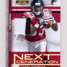 2008 Gridiron Gear Next Generation Jerseys Prime #NG34 Harry Douglas Game-Used Jersey /50