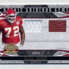 2008 Gridiron Gear Rookie Gridiron Gems Jerseys Combos #215 Glenn Dorsey Game-Used JSY Football /50