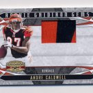 2008 Gridiron Gear Rookie Gridiron Gems Jerseys Prime #201 Andre Caldwell Game-Used Jersey /50