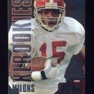 2002 Upper Deck XL Football #575 Freddie Milons RC - Philadelphia Eagles