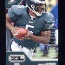 2002 Upper Deck XL Football #352 Donovan McNabb - Philadelphia Eagles