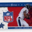 2003 Leaf Rookies And Stars Great American Heroes #GA09 Jamal Lewis - Baltimore Ravens /1325