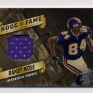 2003 Playoff Hogg Heaven Hogg Of Fame Materials Silver #HF12 Randy Moss Game-Used Jersey /75