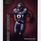 2003 Playoff Hogg Heaven Football #126 Koren Robinson - Seattle Seahawks