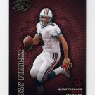 2003 Playoff Hogg Heaven Football #076 Jay Fiedler - Miami Dolphins