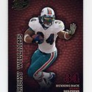 2003 Playoff Hogg Heaven Football #075 Ricky Williams - Miami Dolphins