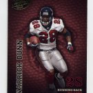 2003 Playoff Hogg Heaven Football #004 Warrick Dunn - Atlanta Falcons