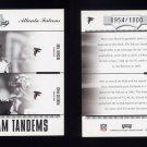 2004 Absolute Memorabilia Team Tandems #TAN-2 Michael Vick / Peerless Price Atlanta Falcons /1000