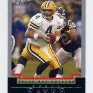2004 Bowman Football #001 Brett Favre - Green Bay Packers