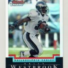 2004 Bowman Chrome Refractors #089 Brian Westbrook - Philadelphia Eagles 353/500