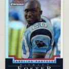 2004 Bowman Chrome Refractors #038 DeShaun Foster - Carolina Panthers 101/500