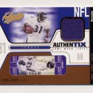 2004 Fleer Authentix Jersey Authentix Mezzanine #JA-JL Jamal Lewis Game-Used Jersey 01/75