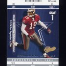 2004 Fleer Authentix Football #087 Keyshawn Johnson - Dallas Cowboys