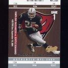 2004 Fleer Authentix Football #064 Charlie Garner - Tampa Bay Buccaneers