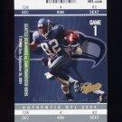 2004 Fleer Authentix Football #010 Darrell Jackson - Seattle Seahawks