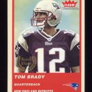 2004 Fleer Tradition Football #324 Tom Brady - New England Patriots