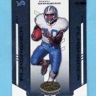 2004 Leaf Certified Materials Football #134 Barry Sanders - Detroit Lions