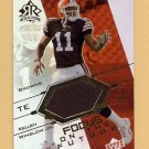2004 Reflections Focus On The Future Jerseys Gold #FO-KW Kellen Winslow Jr. RC Game-Used Jersey