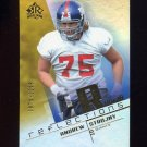 2004 Reflections Football #281 Andrew Strojny RC - New York Giants 0975/1150