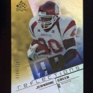 2004 Reflections Football #210 Jermaine Green RC - New York Giants 0284/1150