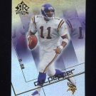2004 Reflections Football #057 Daunte Culpepper - Minnesota Vikings