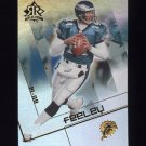 2004 Reflections Football #052 A.J. Feeley - Philadelphia Eagles