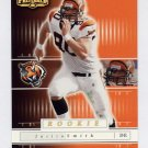 2001 Playoff Preferred National Treasures Gold #166 Justin Smith RC - Cincinnati Bengals 42/50