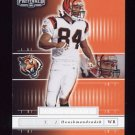 2001 Playoff Preferred National Treasures Silver #147 T.J. Houshmandzadeh RC - Bengals 089/275