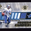 2001 Private Stock Game Worn Gear #055 Charlie Batch - Detroit Lions Game-Used Jersey