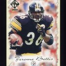 2001 Private Stock Football #076 Jerome Bettis - Pittsburgh Steelers