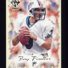 2001 Private Stock Football #049 Jay Fiedler - Miami Dolphins