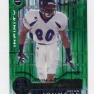 2001 Quantum Leaf Infinity Green #235 Chad Johnson RC - Cincinnati Bengals 52/75
