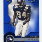 2001 Quantum Leaf Football #105 Randy Moss - Minnesota Vikings
