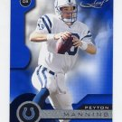 2001 Quantum Leaf Football #081 Peyton Manning - Indianapolis Colts