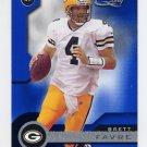 2001 Quantum Leaf Football #074 Brett Favre - Green Bay Packers