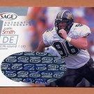 2001 Sage Autographs Silver #A40 Justin Smith RC - Cincinnati Bengals AUTO 369/400