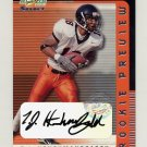 2001 Select Rookie Preview Autographs #RP52 T.J. Houshmandzadeh RC - Cincinnati Bengals AUTO /450