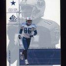2001 SP Game Used Edition Football #027 Carl Pickens - Dallas Cowboys