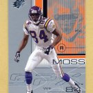 2001 SPx Football #050 Randy Moss - Minnesota Vikings