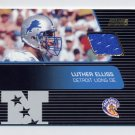 2001 Stadium Club Pro Bowl Jerseys #SP-LE Luther Elliss - Detroit Lions Game-Used Jersey